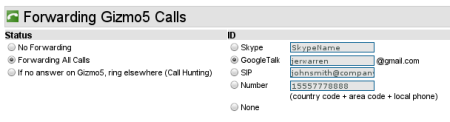 HOWTO: Send your Google Voice Calls to your Google Talk/GMail Voice